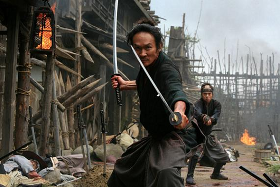 Field of Swords in 13 Assassins