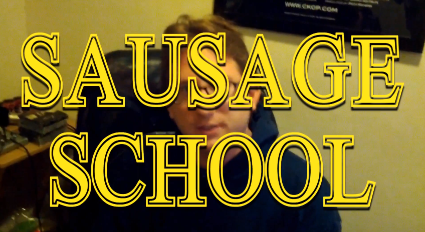 Sausage School Title Image